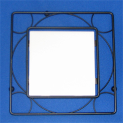 "4"" tile metal frame"