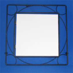 "6"" tile Metal Frame"