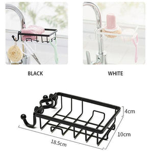Stainless Steel Sink Faucet Hanging Storage Rack(New upgrade)