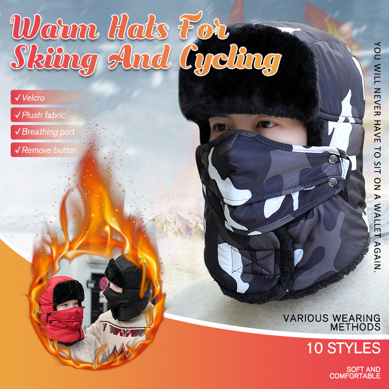 Warm Hats For Skiing And Cycling
