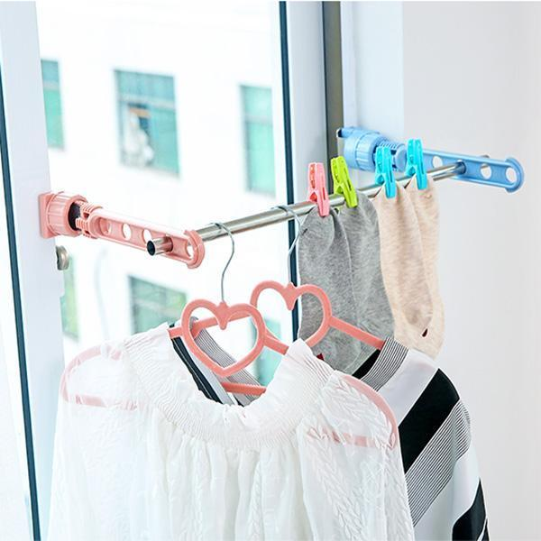 Portable Window Drying Rack