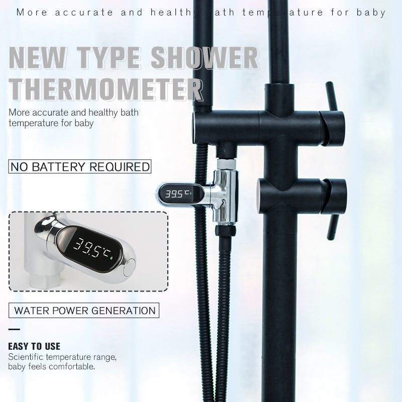 New Type Shower Thermometer