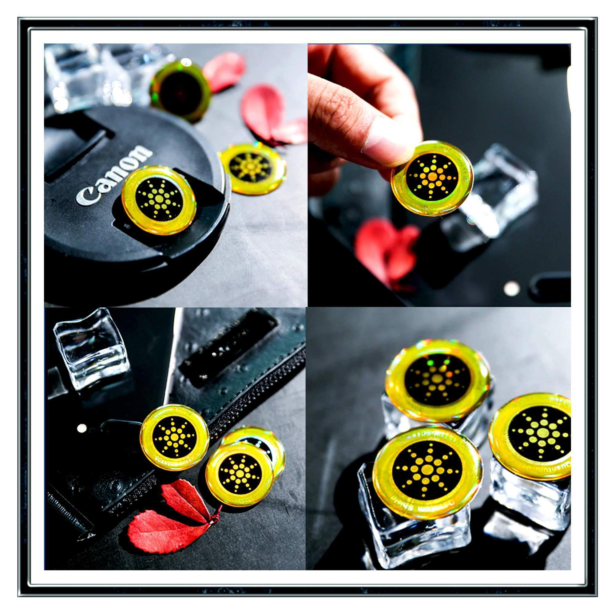 Mini Anti-Radiation Stickers
