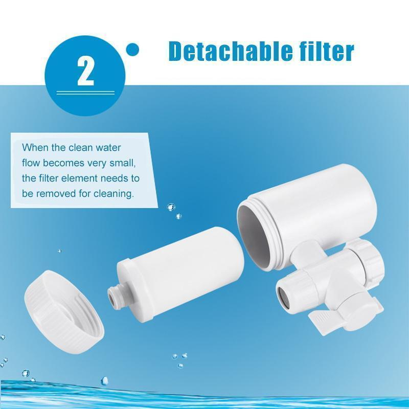Double Outlet Faucet Filtration System(Free shipping)