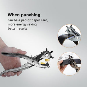 Multi-functional Hole Punch Tool