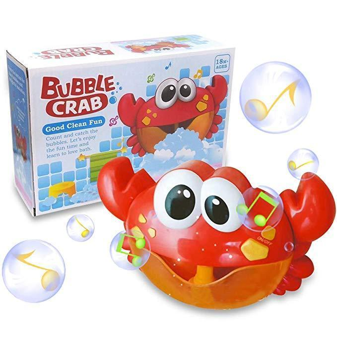 Bubble Crab Bathing Water Toy