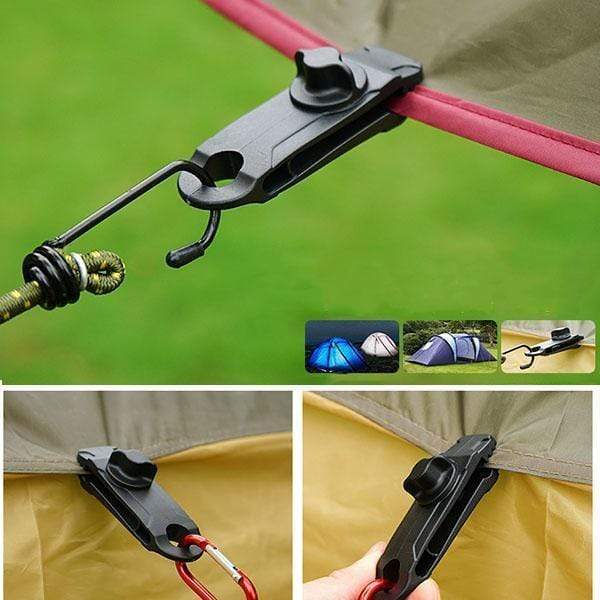 Tarp Clips Awning Clamp(Upgraded Version)