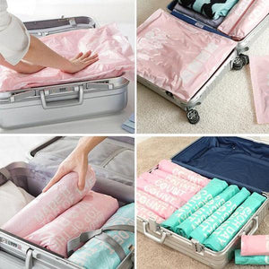 Hand Roll Compression Bag For Travel Bag