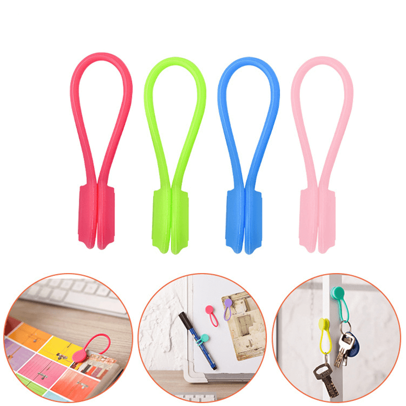 Rainbow Colors Magnetic Wires Organizer