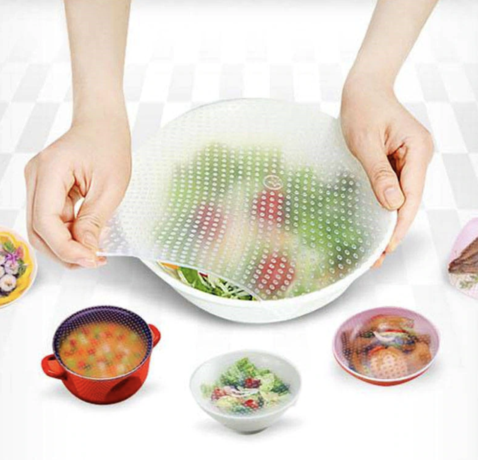 Stretch Lid Food Cover (5PCS)