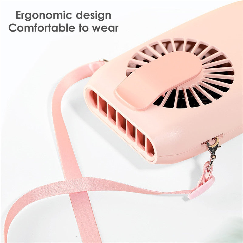 USB Rechargeable Hanging Waste Portable Fan