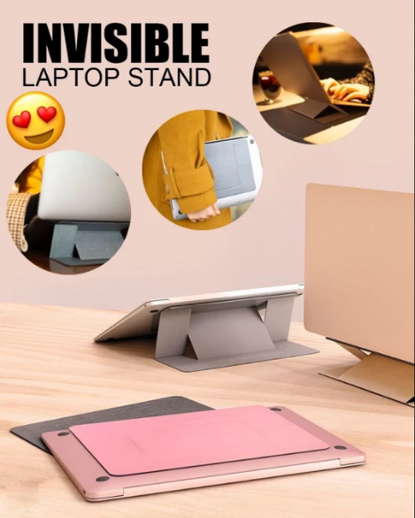 Folding Invisible Laptop&Computer Stand