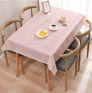 Waterproof, Oilproof, Anti-scalding and Scratch resistant PVC tablecloth