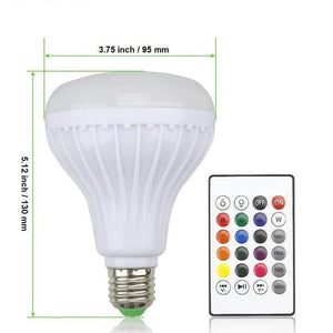 Smart LED Light - 13 Colors, Energy Saving, & Plays Music!