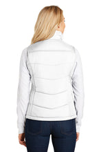 Load image into Gallery viewer, Ladies Puffer Vest / White / Beach FC