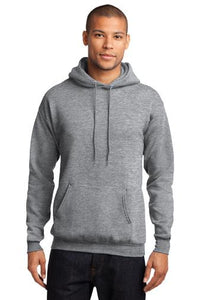 Fleece Pullover Hooded Sweatshirt (Youth & Adult) / Ash Gray / VB FUTSAL