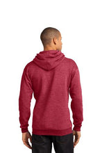 Load image into Gallery viewer, Fleece Pullover Hooded Sweatshirt (Youth & Adult) / Red / VB FUTSAL
