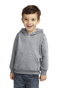 Toddler Core Fleece Pullover Hooded Sweatshirt / Ash Gray / Beach FC