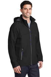 Torrent Raincoat / Black / Beach FC