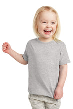 Load image into Gallery viewer, Toddler Fine Jersey Tee / Heather Gray / Beach FC