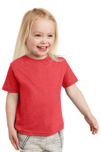 Toddler Fine Jersey Tee / Heather Red / Beach FC