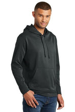 Load image into Gallery viewer, Performance Fleece Pullover Hooded Sweatshirt / Jet Black / VB FUTSAL