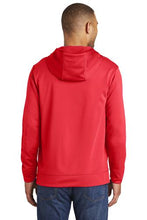 Load image into Gallery viewer, Performance Fleece Pullover Hooded Sweatshirt / Red / VB FUTSAL