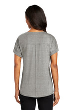 Load image into Gallery viewer, Ladies Activewear Cuffed Short Sleeve / Heather Gray / Beach FC