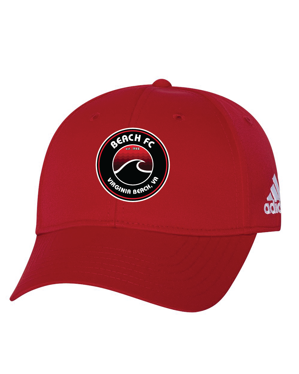 Adidas - Core Performance Max Structured Cap / Red  / Beach FC