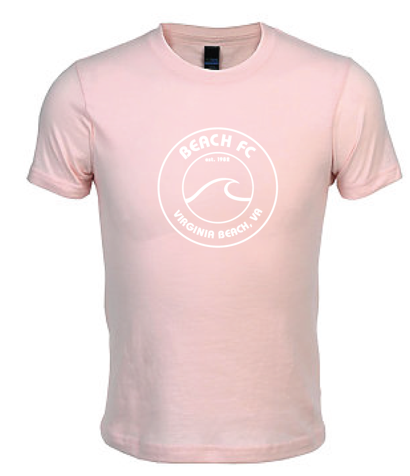 Youth Triblend Tee / Pink / Beach FC