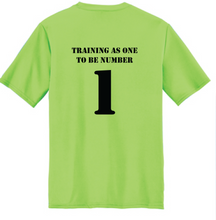 Load image into Gallery viewer, Short Sleeve Performance Tee / Neon Green / Goalkeeper Academy