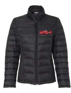 Weatherproof -  Packable Puffer Down Jacket / Black / Beach FC