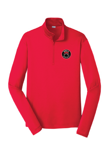 Performance Fleece 1/4-Zip Pullover / Red / Beach FC
