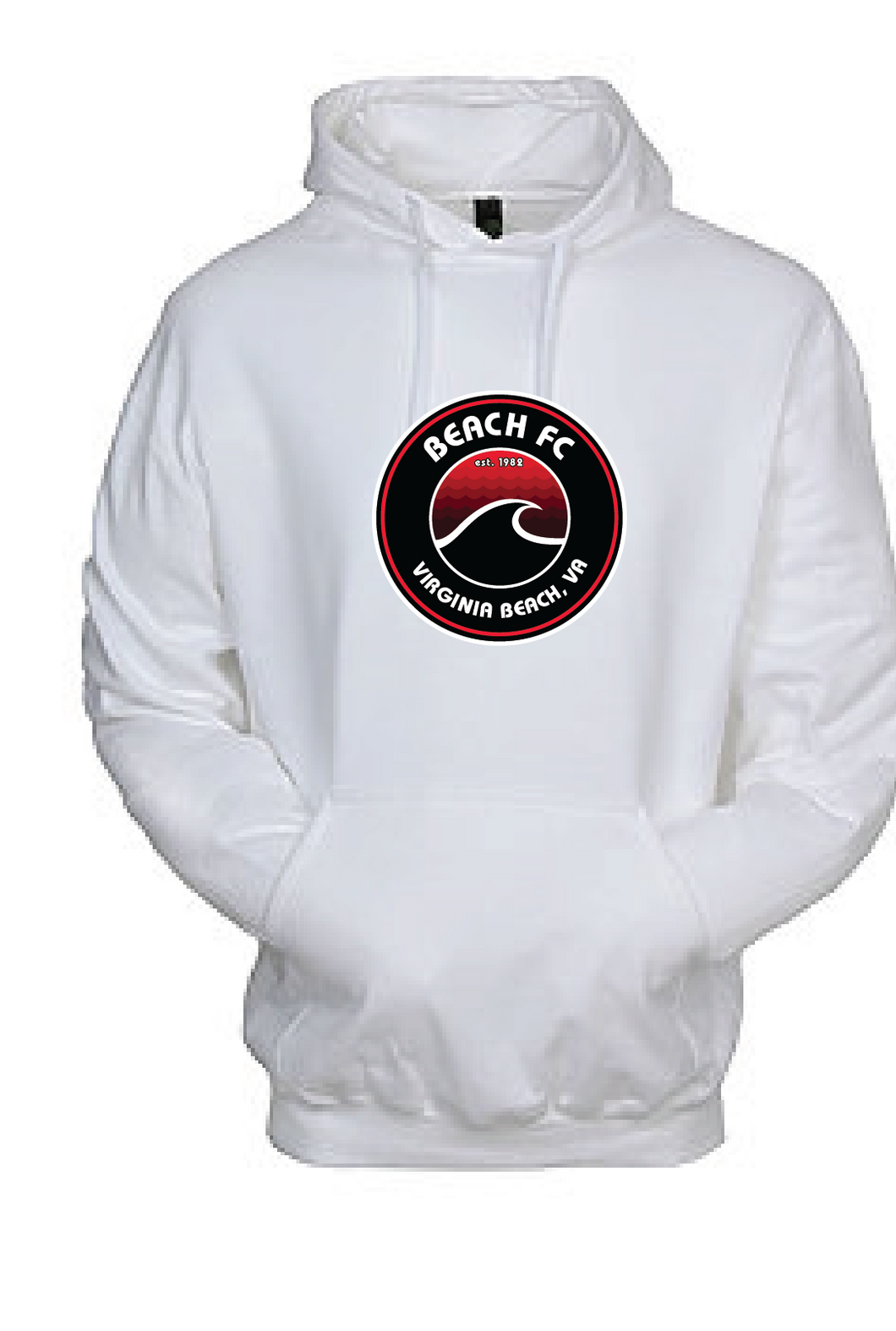 Performance Pullover Hoodie / White / Beach FC