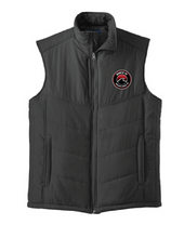 Load image into Gallery viewer, Puffer Vest / Black/ Beach FC