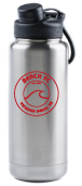 40 Ounce Double Wall Vacuum Insulated Water Bottle / Stainless Steel / Beach FC