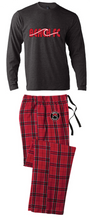 Load image into Gallery viewer, Flannel Pajamas / Red & Black Plaid / Beach FC