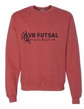 Load image into Gallery viewer, Crewneck Sweatshirt / Heather Red / VB FUTSAL