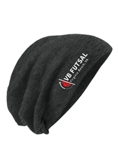 Load image into Gallery viewer, Competitor Cotton Touch  Slouch Beanie/ Black / VB Futsal