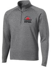 Load image into Gallery viewer, Sport-Wick® Stretch 1/2-Zip Pullover / Charcoal  / VB Futsal Staff