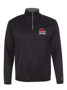 1/4 Zip Pullover / Black / VB Futsal