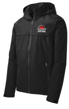 Load image into Gallery viewer, Torrent Waterproof Jacket / Black  / VB Futsal
