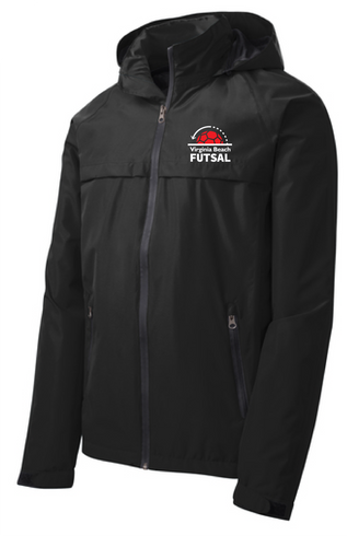 Torrent Waterproof Jacket / Black  / VB Futsal