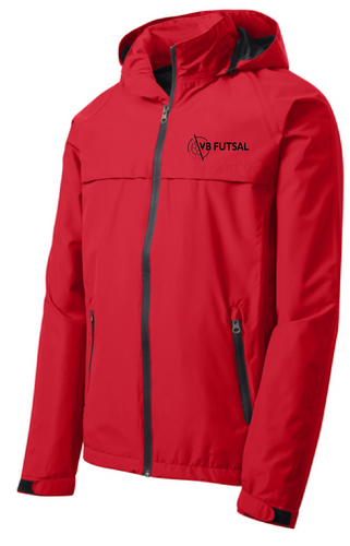 Torrent Waterproof Jacket / Red  / VB Futsal