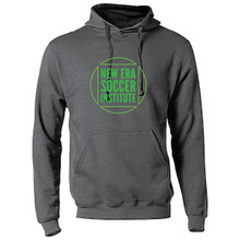 Load image into Gallery viewer, Fleece Hooded Sweatshirt (Youth & Adult) / Heather Charcoal / NESI