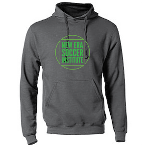 Fleece Hooded Sweatshirt (Youth & Adult) / Heather Charcoal / NESI