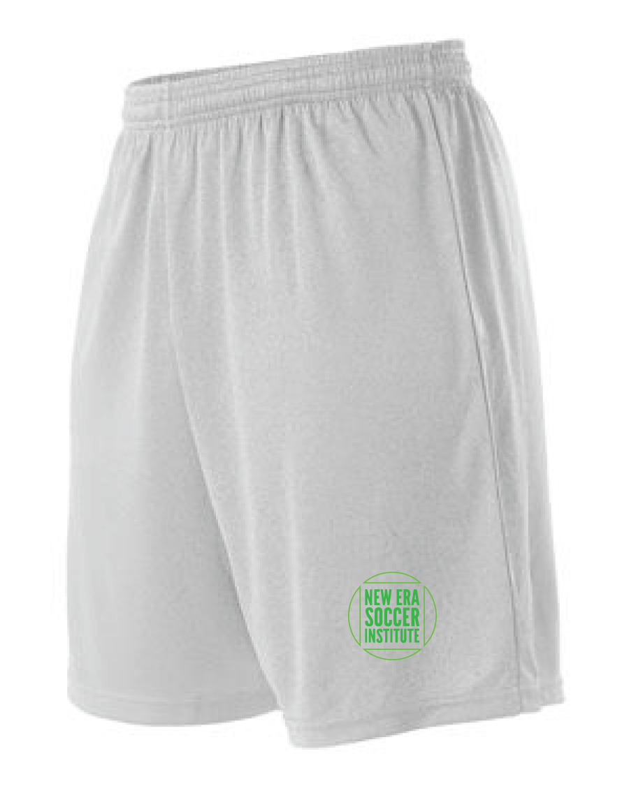 Striker Soccer Shorts (Youth & Adult) / White / NESI