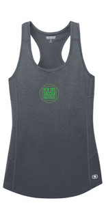 Ladies Racerback Activewear Tank/ Gray / NESI