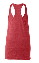 Load image into Gallery viewer, Racerback Tank Top / Heather Red / Beach FC