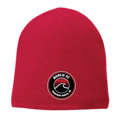 Beanie / Red / Beach FC